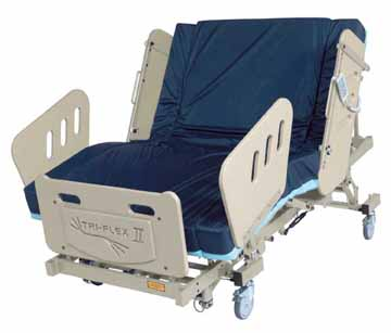 burkebariatric triflex II  bariatric bed houston tx heavy duty large extra wide electric power adjustable medical mattress 3-motor high low fully electric reverse trendellenburg