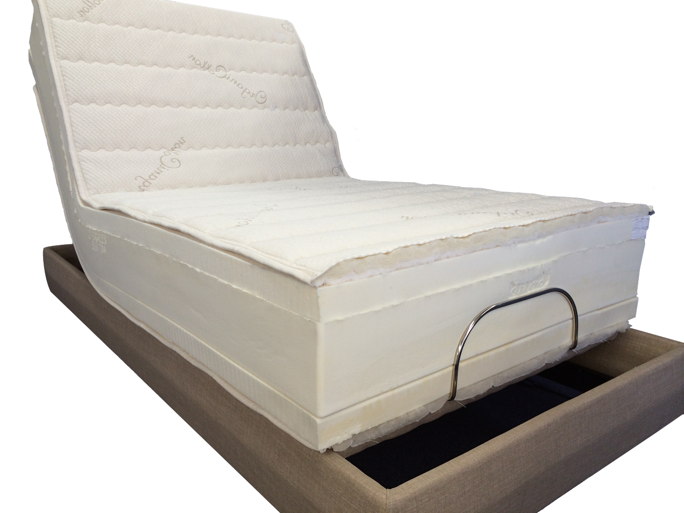 Twin Regular THE ULTIMATE Adjustable Bed Latex Mattress Twinsize